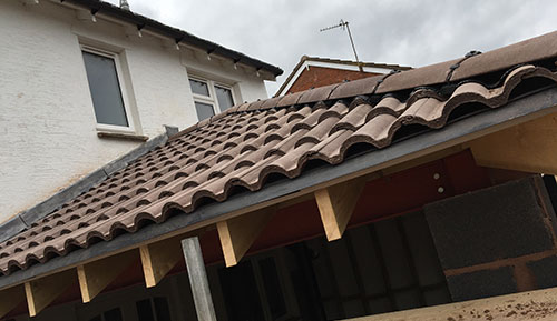 Pitched roofing repairs Exeter